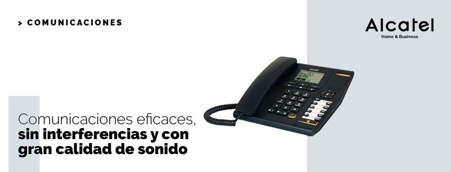 Comunicaciones eficaces con Alcatel Home & Business