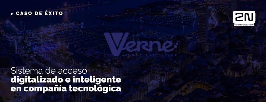 Sistema de acceso digitalizado e inteligente en compañía tecnológica