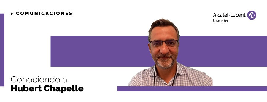 Hubert Chapelle - Channel Sales Manager ALE