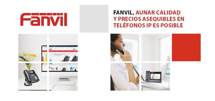 Fanvil telecomunicaciones teléfonos IP