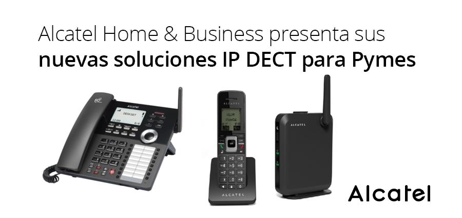 Alcatel nuevas soluciones IP DECT para Pymes
