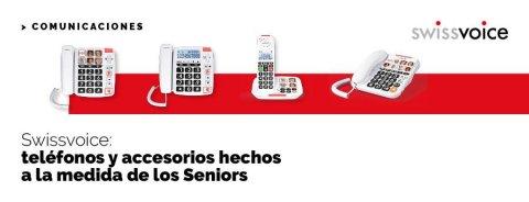 Swissvoice: teléfonos y accesorios hechos a la medida de los Seniors