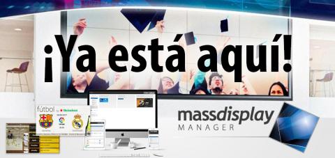 Massdisplay Manager Masscomm listo