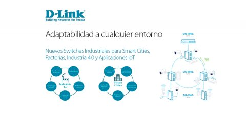 d-LINK, switches industriales