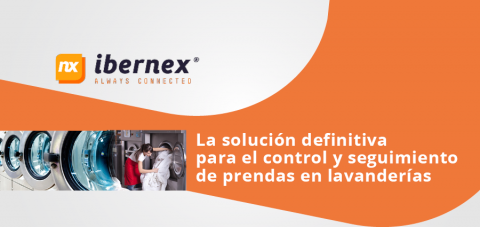 IBERNEX. La solución definitiva para el control y seguimiento de prendas en lavanderías