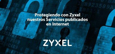 Zyxel, protección de servicios publicados