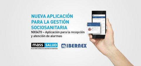 NX0470 aplicación para recepción de alarmas