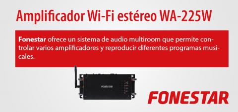 amplificador wifi estéreo